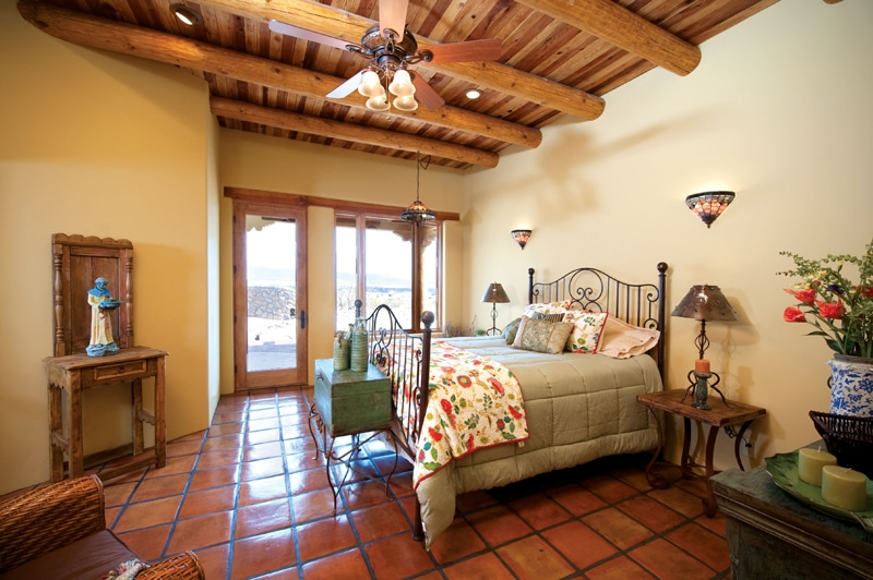 Classic New Mexico Homes Bedroom