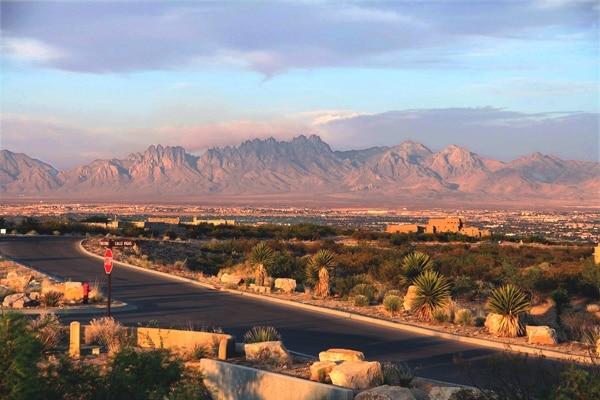 Chihueahuan desert view