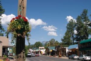 Ruidoso during the summer