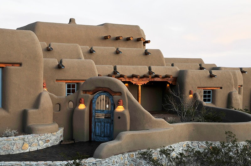 Custom Adobe Home at Picacho Mountain