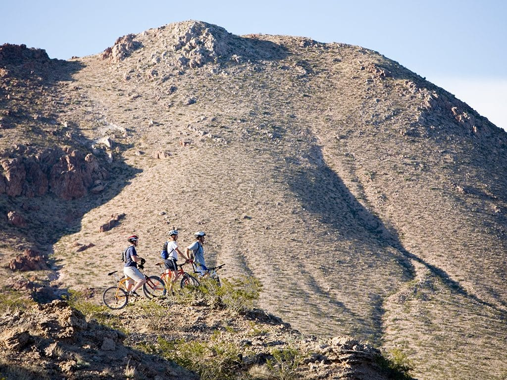 Picacho Peak mountain biking
