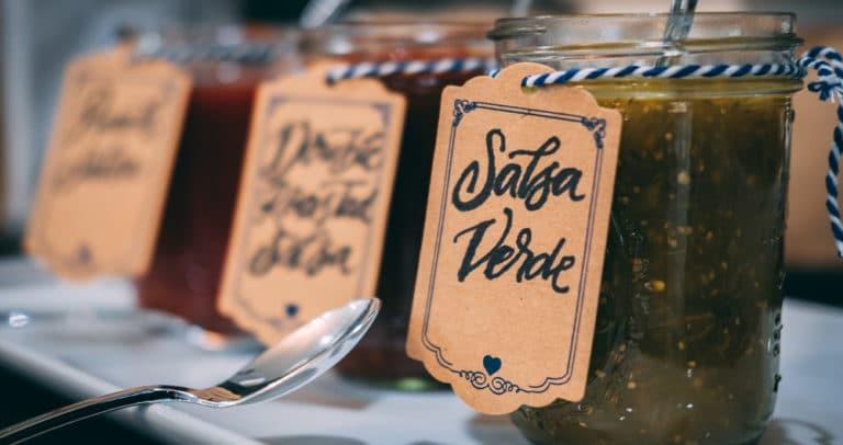 Salsa Sample Tasting
