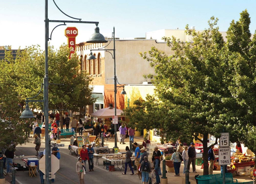 Downtown Las Cruces pop up market