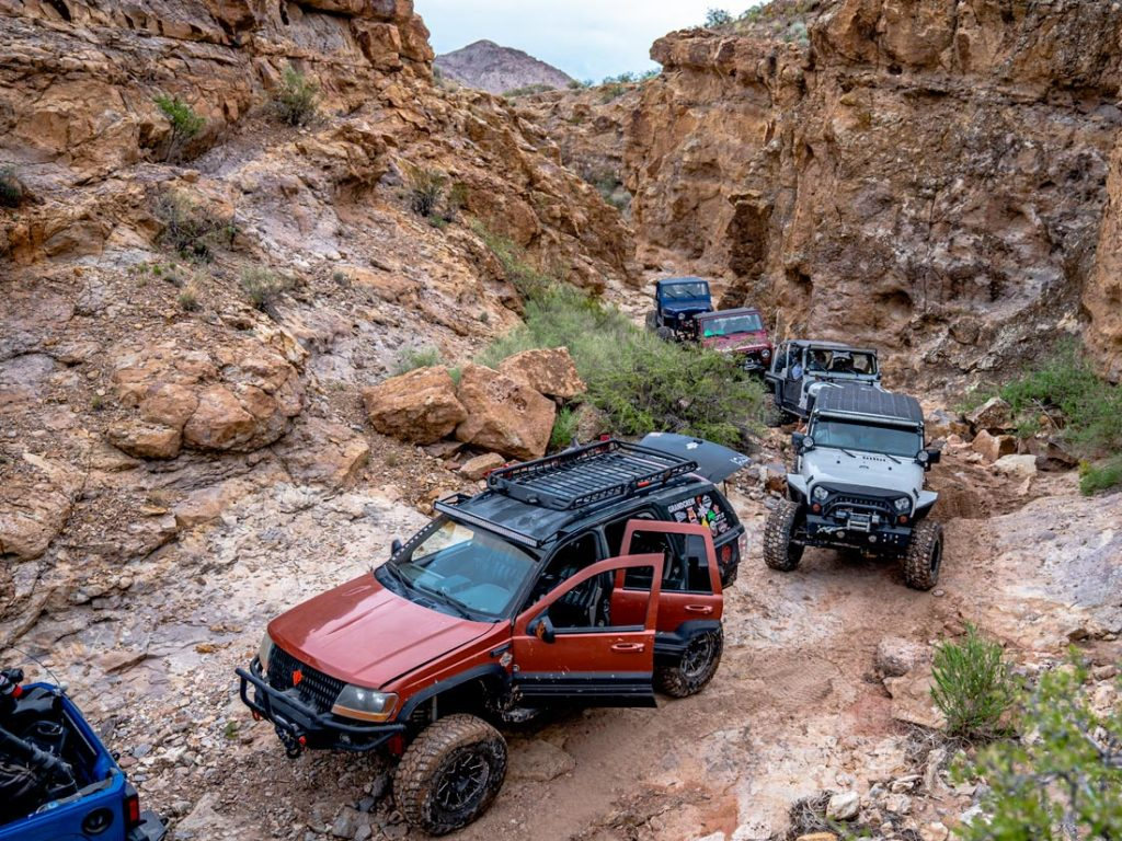 Box Canyon 4x4 trail Off Road Club